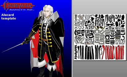 Alucard - template by MorellAgrysis