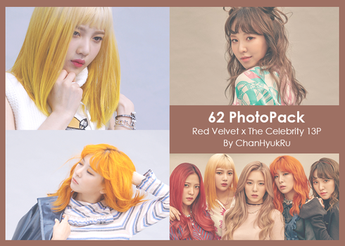 62 / Red Velvet x The Celebrity PhotoPack by ChanHyukRu