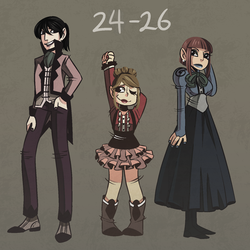 30 character chlng - trio by daughter-thursday