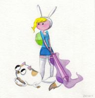 Fionna And Cake by Chr-ali3