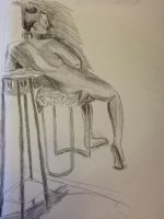 Life drawing 2 by heybeliever