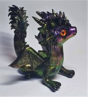Polymer Clay Dragon by EmmasUnicorns