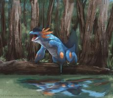 Swampert by TheSax66