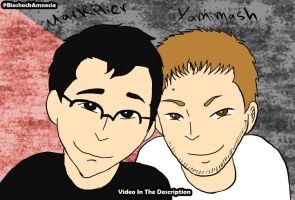 Mark and Yami by ikriam