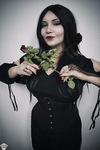 Morticia Addams by ThePuddins