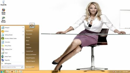 Mirjam Weichselbraun Windows 7 theme by windowsthemes