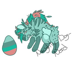 Mystery Egg Adopt Hatched #1 by Naughty-Dog-Nerd
