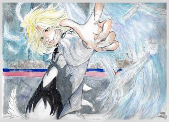 Yuri On Ice: Yuri Plisetsky's Agape by littlemissmarikit