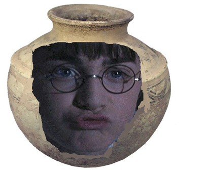 Harry the pot by musicnotedraws