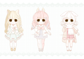 [CLOSED] Little Adopts Auction ~ 11 by intheyuukei