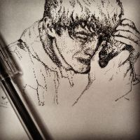 Pointilism (in progress) by RemainUndefined