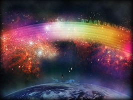 Space Rainbow by GodlikeMcx