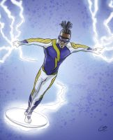 Static Shock Redesign by tiguybou
