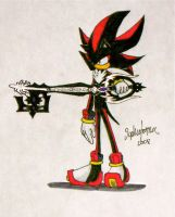 Shadow The Hedgehog by WhereShadowsThrive