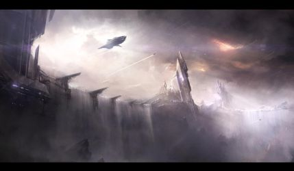 The cascade departure by UlricLeprovost