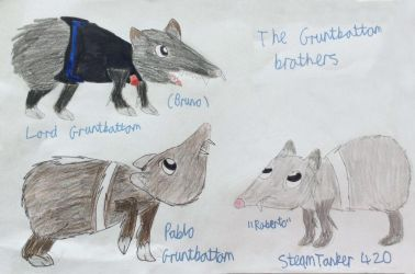 Vayamon characters- The Gruntbottom Brothers by Sia-the-Mawile