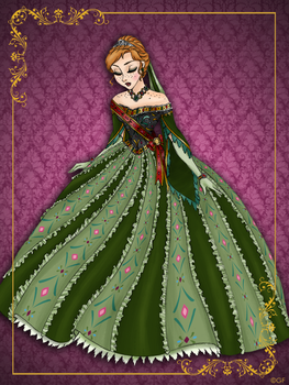 Queen Anna - Disney Queen designer collection by GFantasy92