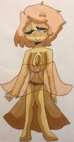 .:Golden Pearl Oc Drawing:. by SleepyStaceyArt