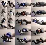 Portal Gauntlet (On Arm) by ThePandaPastry