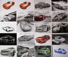 All of my cars by smudlinka66
