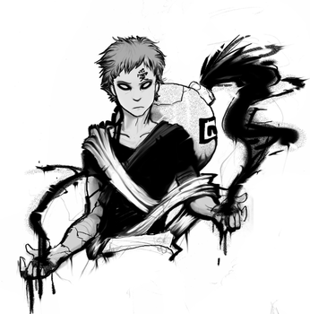 Gaara of the Sand by Solocore