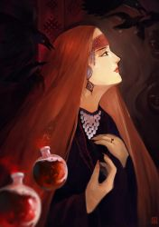 Flame witch by soanvalentine