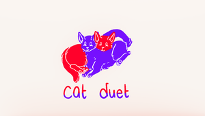 cat duet (link in desc) by Official-Fallblossom