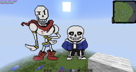 Sans and Papyrus :D by MasaruIsamu