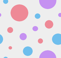 Tileable Dots Pastel by MikariStar