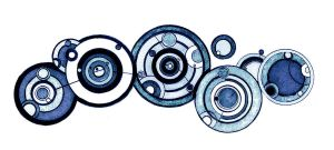 the Doctor's name in Gallifreyan by fshuds