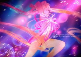 Moon Cosmic Power, Make Up! by Axsens