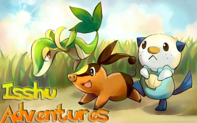Pokemon Isshu Adventures Cover by IronMawileTv