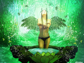Green Fantasy by Lolita-Artz