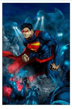 Action Comics 1 Cover by Ta2dsoul