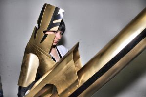 Soi Fon Bankai Cosplay 02 by HellDolly