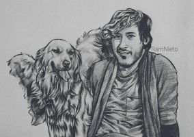 Chica and Mark by RamNieto