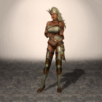 Dynasty Warriors 8 Zhu Rong by ArmachamCorp