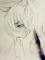Tomoe (Kamisama Hajimemashita) - Sketch by YoungChanNguyen