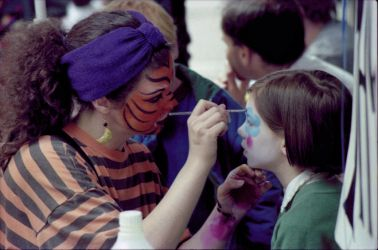 Face painting by setanta5
