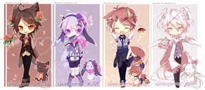 [CLOSED TY!!] Gemsprout 27-30 by Akayam