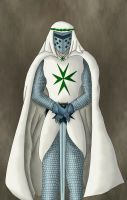 Knight of St. Lazarus by Gouachevalier
