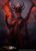 Dragaon Chronicles - Drakaina by RobertCrescenzio