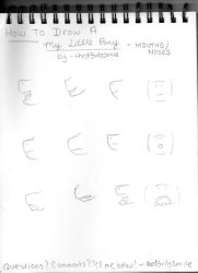 How To Draw A My Little Pony - Mouths And Noses by thed3vilssmile
