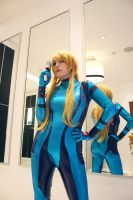 Zero Suit Samus - 02 by galaktikmermaid