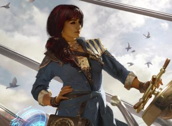 Jhoira, Weatherlight Captain by Cryptcrawler