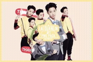 RENDER/PNG PACK #1 - LAI GUANLIN by DAEHW1ST