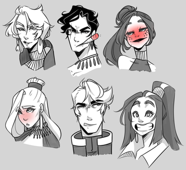 I tried some expressions I guess by Looji