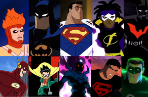 Top 10 Animated Heroes by CamiloSama