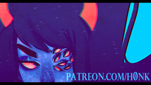 Patreon || Vriska Preview by H0nk-png
