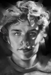 Study #1 (Douglas Smith - Digital) by KaterinaTch